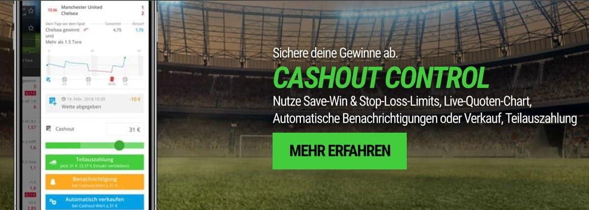 NEO.bet Cashout Wetten