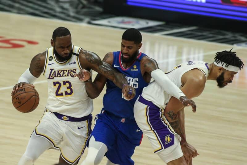 LA Lakers gegen Portland Trail Blazers