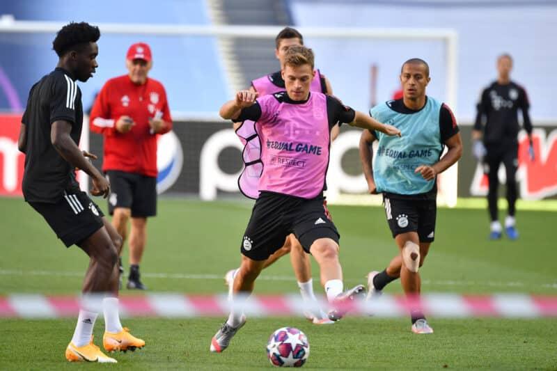 Training Bayern München vor dem Spiel gegen Paris Saint Germain