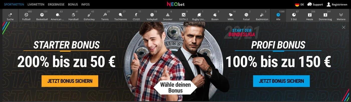 Neobet Bonus