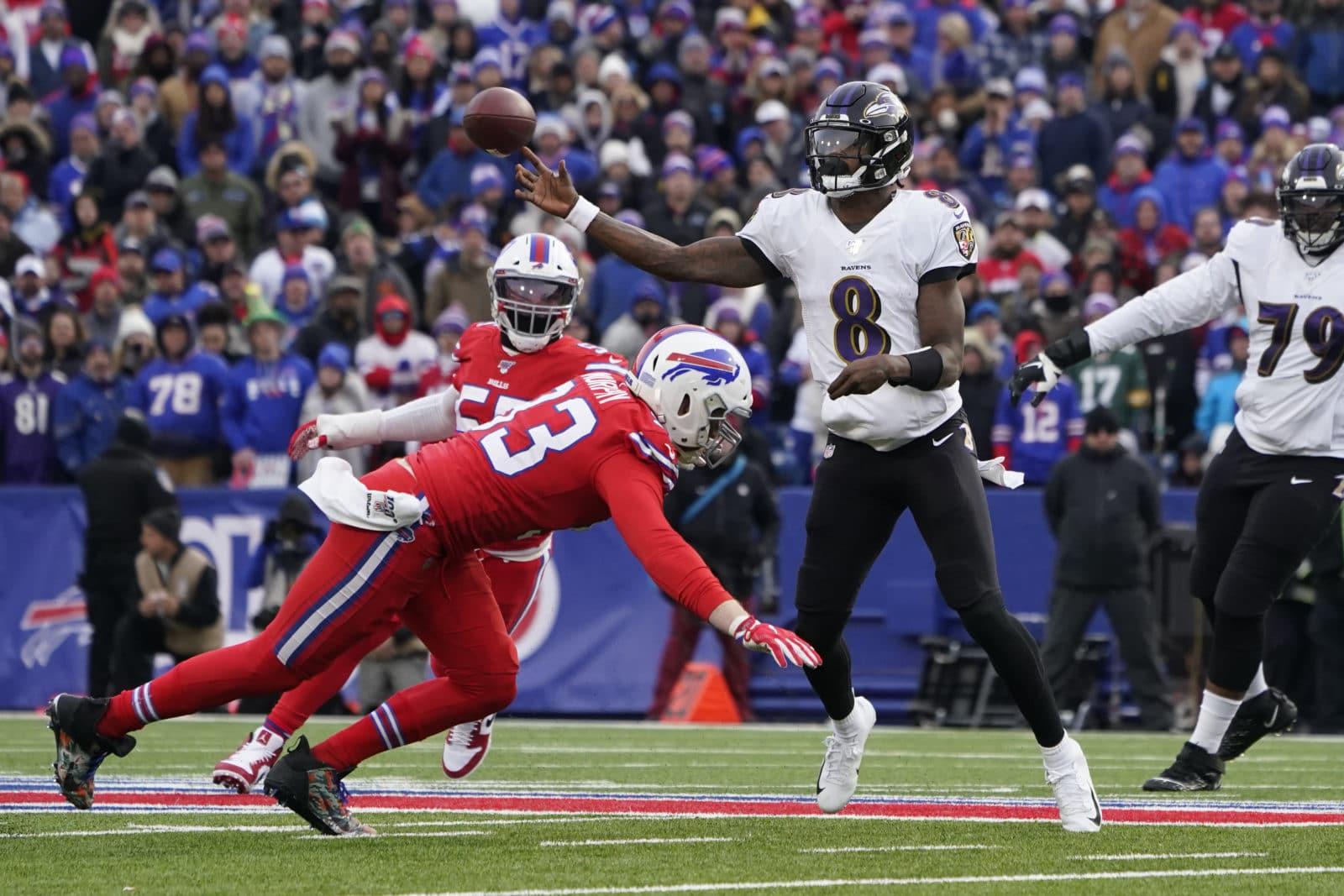 Buffalo Bills gegen Baltimore Ravens