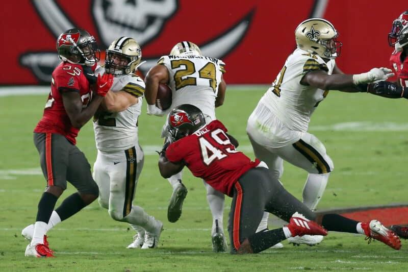 Tampa Bay Buccaneers gegen New Orleans Saints