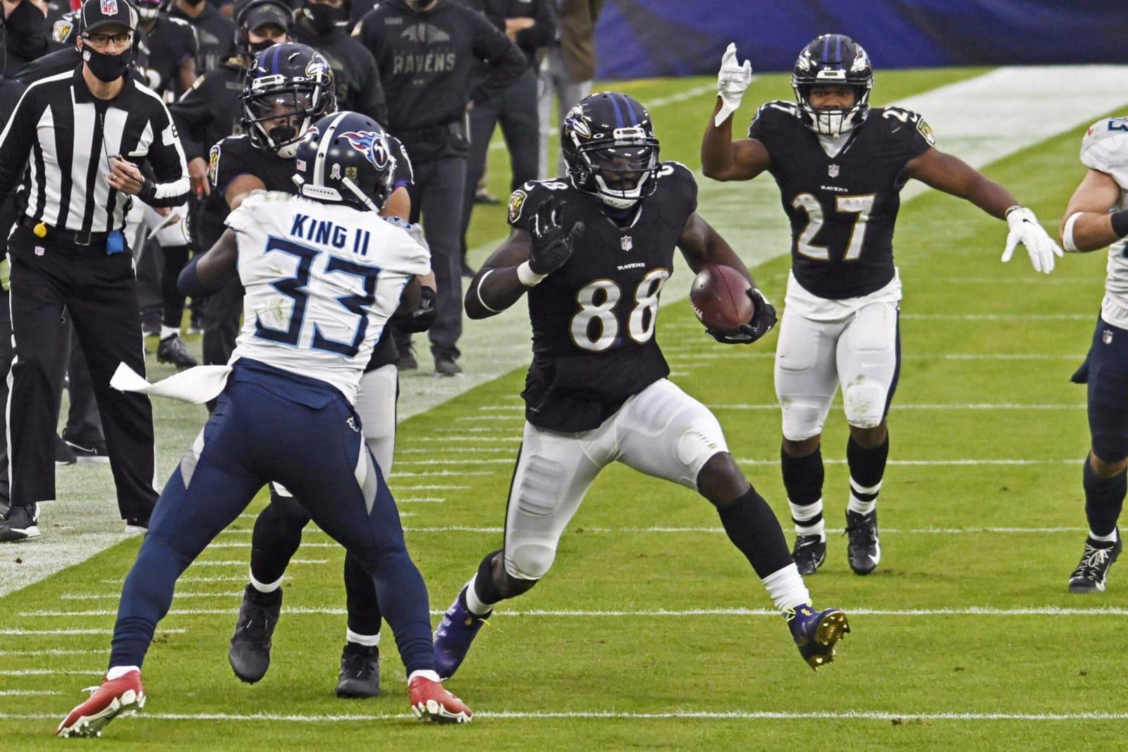 Tennessee Titans gegen Baltimore Ravens