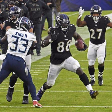 NFL Wetten: Tennessee Titans – Baltimore Ravens Wett Tipp und Quoten