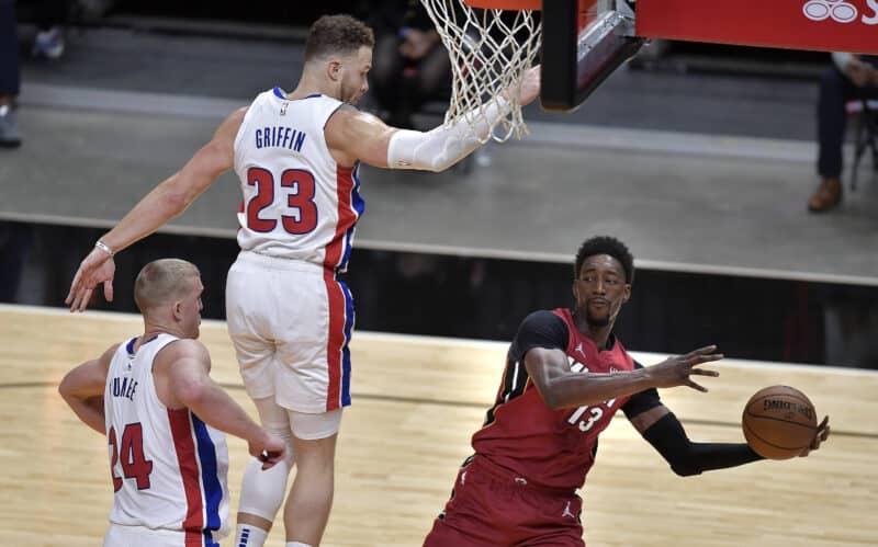 Detroit Pistons Spieler Blake Griffin