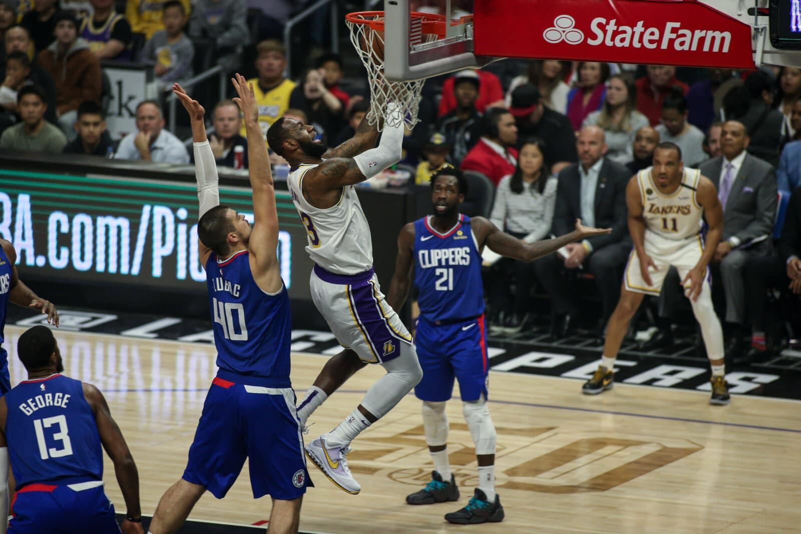 LeBron James LA Lakers