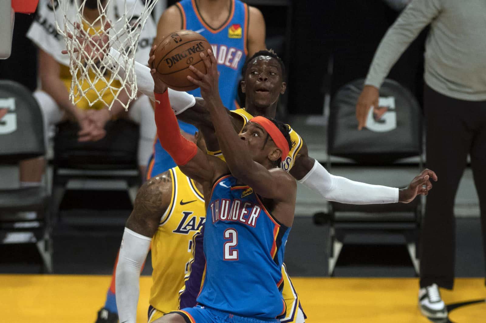 Shai Gilgeous-Alexander gegen LA Lakers